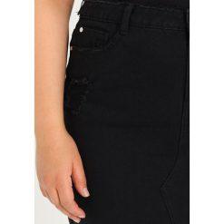 Spódniczki ołówkowe: Missguided Plus DISTRESSED  Spódnica ołówkowa  black