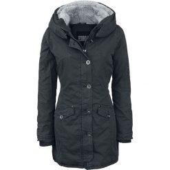 Urban Classics Ladies Garment Washed Long Parka Kurtka damska czarny. Czarne kurtki damskie marki House, l. Za 446,90 zł.