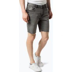 Bermudy męskie: Review - Męskie spodenki jeansowe, szary