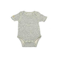Body Light Grey Fleck 6-12 m. Czarne body niemowlęce marki Calvin Klein Black Label. Za 36,67 zł.