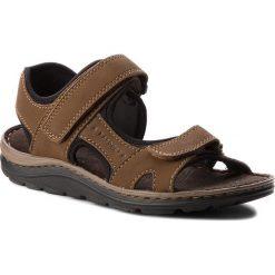 Sandały męskie skórzane: Sandały LASOCKI FOR MEN – MI18-920B Khaki