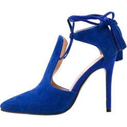 Sandały damskie: Lavish Alice POINTED STILETTO Sandały na obcasie blue