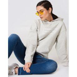 Bluzy rozpinane damskie: The Classy Issue Bluza z kapturem Classic Logo - Grey