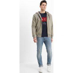T-shirty męskie z nadrukiem: Jack Wills BRAMSHILL COLOUR BLOCK TEE Tshirt z nadrukiem navy