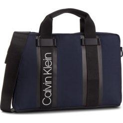 Torba na laptopa CALVIN KLEIN - Clash Laptop Bag K50K504228 461. Niebieskie torby na laptopa Calvin Klein, z materiału. Za 549,00 zł.