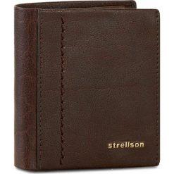Duży Portfel Męski STRELLSON - Walker 4010001795 Dark Brown 702. Brązowe portfele męskie marki Strellson, ze skóry. W wyprzedaży za 129,00 zł.