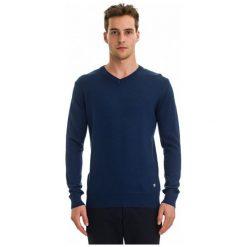 Galvanni Sweter Męski Wodonga Xxl Ciemnoniebieski. Niebieskie swetry klasyczne męskie GALVANNI, m, z wełny. W wyprzedaży za 269,00 zł.