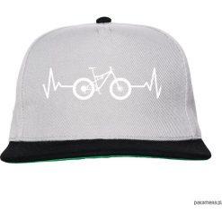 Czapka FullCap EKG FULL gray/black. Czarne czapki damskie Pakamera, z nadrukiem. Za 69,00 zł.