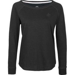 Koszulka w kolorze ciemnozielonym. Zielone bluzki longsleeves Dreimaster, xs, z bawełny, z okrągłym kołnierzem. W wyprzedaży za 85,95 zł.
