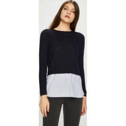 Only - Sweter New Oxford. Czarne swetry klasyczne damskie ONLY, l, z bawełny, z okrągłym kołnierzem. Za 129,90 zł.
