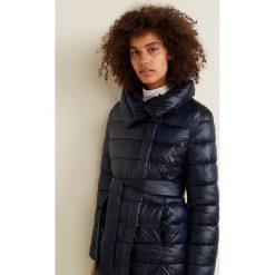 Mango - Kurtka Marais. Czarne kurtki damskie pikowane Mango, l, w paski, z materiału. Za 299,90 zł.