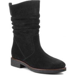 Kozaki GABOR - 92.703.47 Schw. Czarne buty zimowe damskie Gabor, ze skóry ekologicznej, na obcasie. Za 529,00 zł.