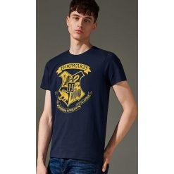 T-shirt Harry Potter - Granatowy. Niebieskie t-shirty męskie marki House, l. Za 49,99 zł.