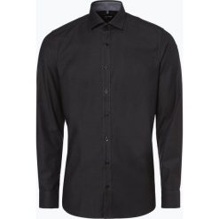 Olymp Level Five - Koszula męska łatwa w prasowaniu, czarny. Czarne koszule męskie non-iron marki OLYMP Level Five, m. Za 149,99 zł.