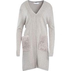 Swetry damskie: Khaki Kardigan Fire And Rain