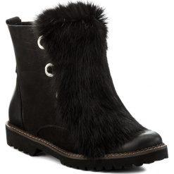 Botki EVA MINGE - Rosario 17BD1372203EF 401. Czarne buty zimowe damskie Eva Minge, z materiału. W wyprzedaży za 299,00 zł.