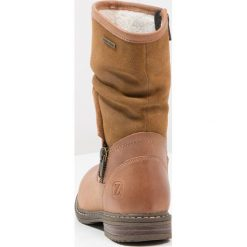 Buty zimowe damskie: Zebra Schuhe LULU Kozaki cognac