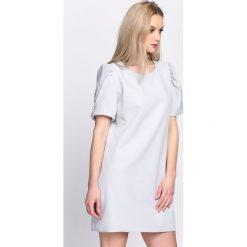 Szara Sukienka Thunderbird. Szare sukienki letnie Born2be, s, mini. Za 79,99 zł.