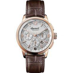 RABAT ZEGAREK INGERSOLL THE REGENT QUARTZ CHRONOGRAPH I00102. Białe zegarki męskie INGERSOLL, ze stali. W wyprzedaży za 1020,00 zł.