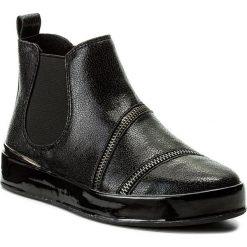 Sztyblety GUESS - Vanina FLVNI4 LEL10 BLACK. Czarne buty zimowe damskie Guess, z materiału. W wyprzedaży za 339,00 zł.