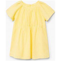 Sukienki dziewczęce: Mango Kids – Sukienka dziecięca Emma 80-98 cm