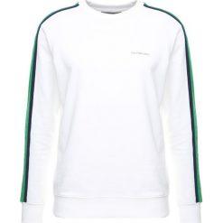 Calvin Klein Jeans SIDE STRIPE Bluza white. Białe kardigany męskie marki Calvin Klein Jeans, l, z bawełny. W wyprzedaży za 356,85 zł.