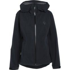 Black Diamond STORMLINE STRETCH RAIN SHELL Kurtka przeciwdeszczowa black. Czarne kurtki sportowe damskie marki Black Diamond, xl, z elastanu. Za 629,00 zł.