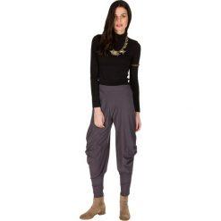 Rurki damskie: Spodnie w kolorze szarym