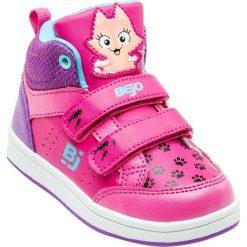 Buciki niemowlęce chłopięce: BEJO Buty dziecięce Ikati Kids  Light Fuchsia / Violet / Kitty r. 27