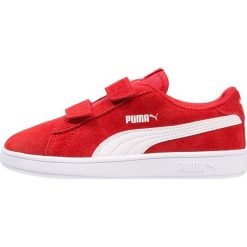 Puma SMASH V2 SD V INF Tenisówki i Trampki high risk red/white. Czerwone trampki dziewczęce marki Puma, z materiału, na sznurówki. Za 149,00 zł.