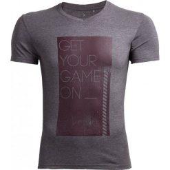 T-shirt męski TSM604 - ŚREDNI SZARY MELANŻ - Outhorn. Szare t-shirty męskie Outhorn, na jesień, m, melanż, z bawełny. W wyprzedaży za 27,99 zł.