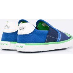 Geox - Tenisówki dziecięce. Szare buty sportowe chłopięce Geox, z materiału. W wyprzedaży za 159,90 zł.