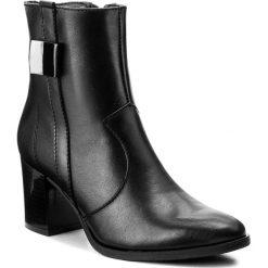 Botki SERGIO BARDI - Verona FW127268117DP 101. Czarne buty zimowe damskie Sergio Bardi, ze skóry, na obcasie. W wyprzedaży za 209,00 zł.