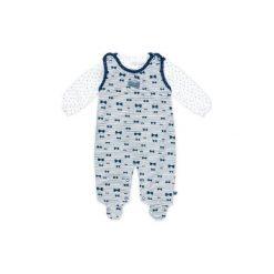 Feetje  Śpioszki Paski marine - niebieski - Gr.Niemowlę (0 - 6 miesięcy). Niebieskie śpiochy niemowlęce marki Feetje, z bawełny. Za 99,00 zł.