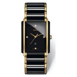 ZEGAREK RADO INTEGRAL. Czarne zegarki damskie RADO, ceramiczne. Za 9520,00 zł.