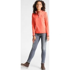 Bluzy damskie: ODLO ALAGNA          Bluza z polaru hot coral