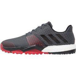Adidas Golf ADIPOWER SPORT BOOST 3 Obuwie do golfa onix/core black/scarlet. Szare buty sportowe męskie adidas Golf, z materiału, na golfa. Za 499,00 zł.