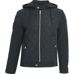 Ciemnozielona Kurtka Always Fool Me. Czarne kurtki męskie pikowane marki Born2be, l, z aplikacjami, z dresówki. Za 244,99 zł.