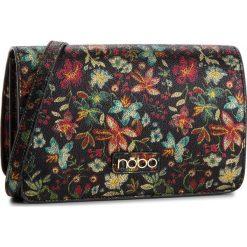 Torebka NOBO - NBAG-F0350-CM20 Czarny Z Kwiatami. Czarne listonoszki damskie marki Nobo, ze skóry ekologicznej. W wyprzedaży za 149,00 zł.