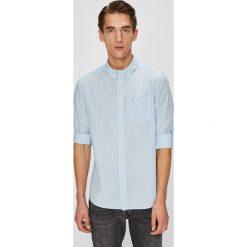 Wrangler - Koszula. Szare koszule męskie na spinki Wrangler, l, w paski, z bawełny, button down, z długim rękawem. Za 189,90 zł.