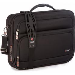 """I-Stay IS0202 15.6"""" czarna. Czarne torby na laptopa marki i-Stay, w paski. Za 349,00 zł."""