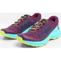 Salomon XA ELEVATE Obuwie do biegania Szlak dark purple/blue curacao/acid lime. Fioletowe buty do biegania damskie Salomon, z materiału. Za 569,00 zł.