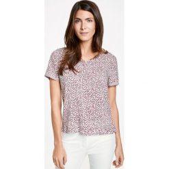 Bluzki asymetryczne: Bluzka w drobny wzór