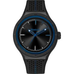 Zegarki damskie: Zegarek kwarcowy w kolorze czarno-niebieskim