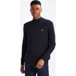 Swetry klasyczne męskie: Lyle & Scott ZIP JUMPER Sweter dark navy
