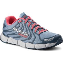 Buty COLUMBIA - Fluidflex F.K.T. II  BL2800 Dark Mirage/Red Camellia 411. Niebieskie buty do biegania damskie Columbia, z materiału. W wyprzedaży za 349,00 zł.