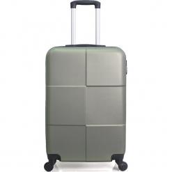 """Walizka """"Coronado"""" w kolorze khaki - 41 x 59 x 25 cm. Brązowe walizki Hero & BlueStar, z materiału. W wyprzedaży za 195,95 zł."""