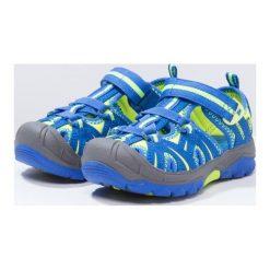 Merrell HYDRO HIKER Sandały trekkingowe blue/citron. Sandały męskie skórzane marki Merrell. W wyprzedaży za 125,95 zł.