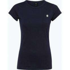 G-Star - T-shirt damski – Eyben, niebieski. Niebieskie t-shirty damskie G-Star, m, z nadrukiem. Za 39,95 zł.
