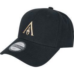 Assassin's Creed Odyssey - Logo Czapka baseballowa czarny. Czarne czapki z daszkiem damskie z aplikacjami, z tworzywa sztucznego. Za 79,90 zł.